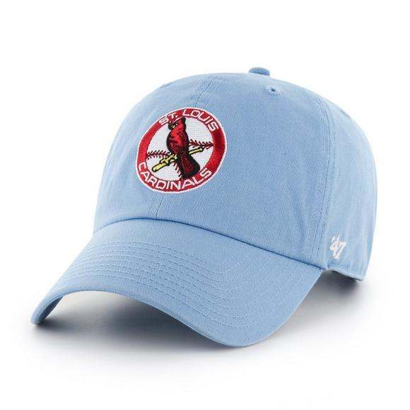 47 Brand Clean Up St. Louis Cardinals Light Blue Adjustable Hat - Main  Container.   3003d516eeb
