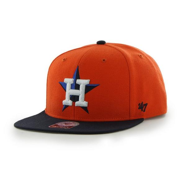 47 Brand Houston Astros Sure Shot Two-Tone Snapback Hat