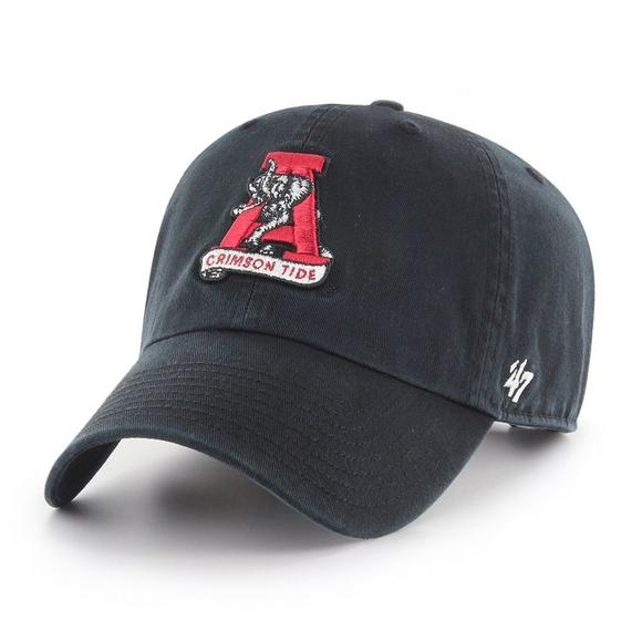 1022bbdd40263  47 Brand Alabama Crimson Tide Vintage Clean Up Adjustable Hat - Main  Container Image 1.