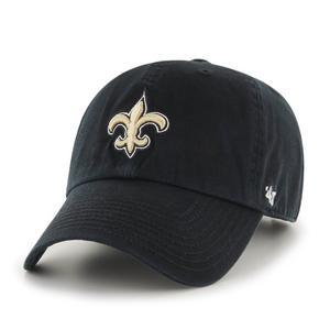 537d529d64904 4 out of 5 stars. Read reviews. (4).  47 Brand Clean up New Orleans Saints  Black Adjustable Hat
