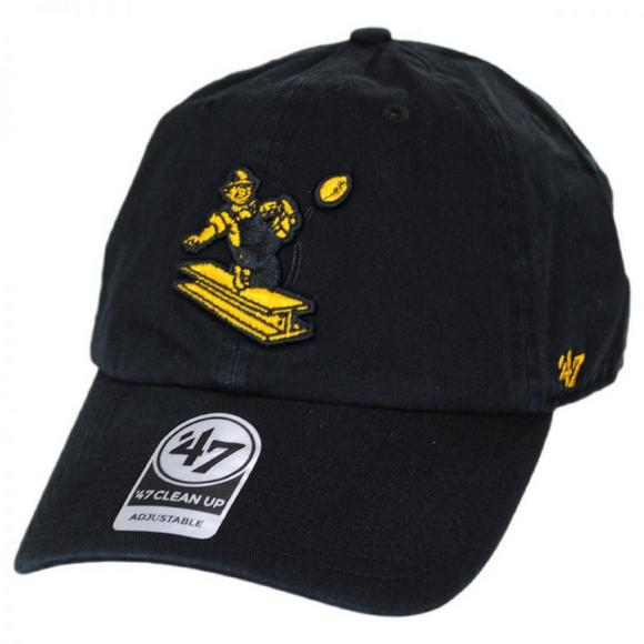 size 40 0ee2e 279be  47 Brand Clean Up Pittsburgh Steelers Adjustable Hat - Main Container  Image 1.