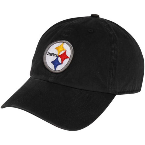 9bdcdc32c9f  47 Brand Clean Up Pittsburgh Steelers Adjustable Black Hat - Main  Container Image 1.