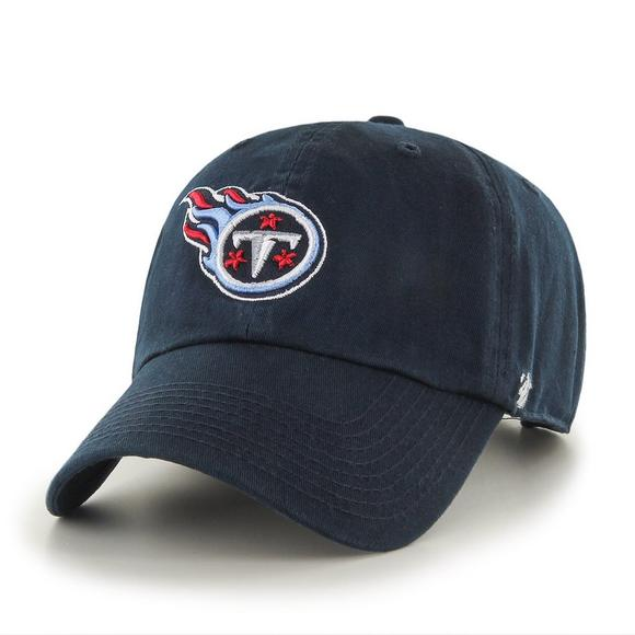 outlet store 5b270 2f4a3  47 Brand Tennessee Titans Clean Up Adjustable Hat - Main Container Image  1.