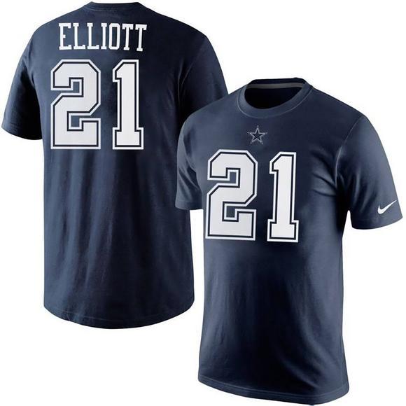newest 24df8 0e405 Nike Youth Dallas Cowboys E. Elliot T-Shirt - Hibbett | City ...