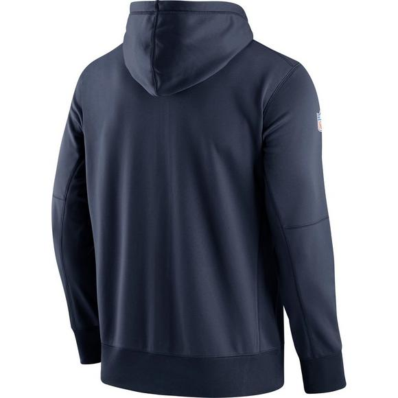 timeless design 7226c bbb23 Nike Men's Dallas Cowboys Sideline Logo Performance Full-Zip ...