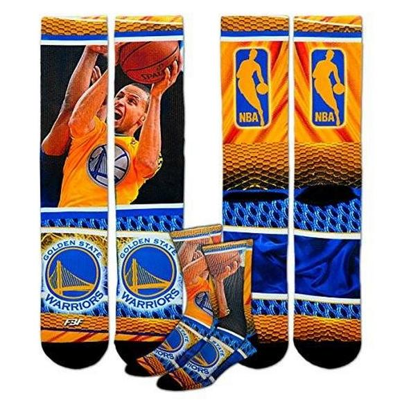 b101c24c5721 For Bare Feet Golden State Warriors Youth Size NBA Hard Play Kids Socks -  Main Container