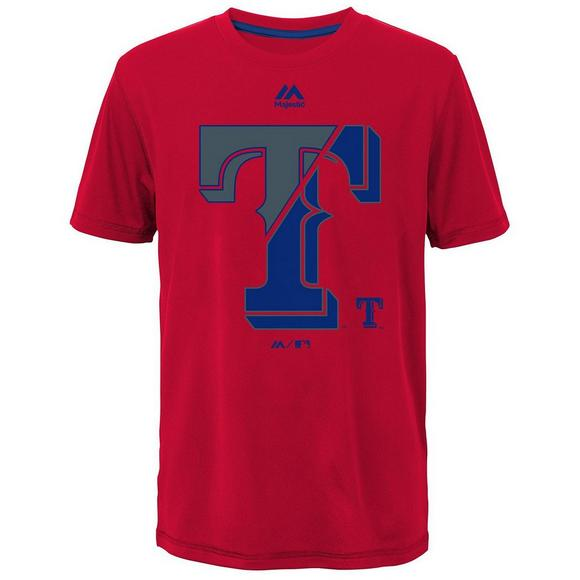 Majestic Youth Texas Rangers Split Series Ultra T-Shirt - Main Container  Image 1 04551a6ca