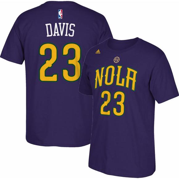 hot sale online 0a672 e9d31 adidas Youth New Orleans Pelicans Anthony Davis Performance ...