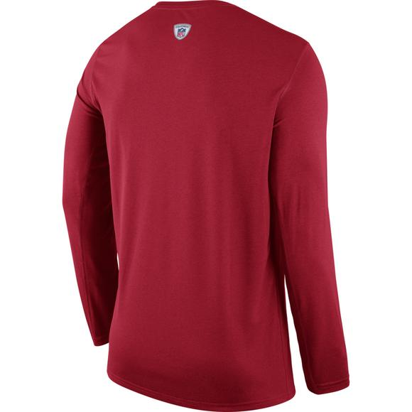 5b5e1f2b1 Nike Men s San Francisco 49ers Legend Practice Long Sleeve Performance T- Shirt - Main Container