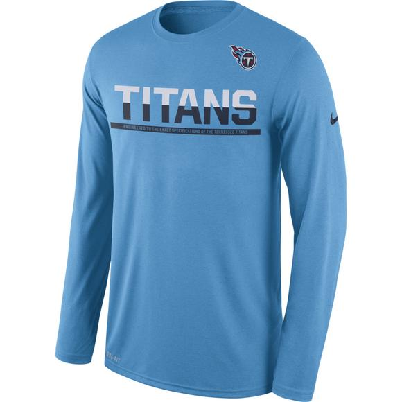 d9658d0f8e34 Nike Men s Tennessee Titans Legend Practice Long Sleeve Performance T-Shirt  - Main Container Image