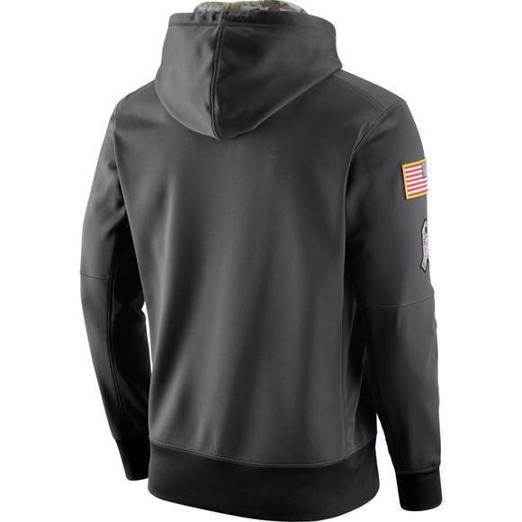 super popular f395b c362e Nike Men's Carolina Panthers Salute to Service Men's Hoodie ...