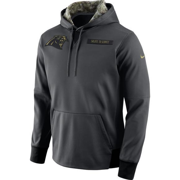 super popular 65fb7 8f45c Nike Men's Carolina Panthers Salute to Service Men's Hoodie ...