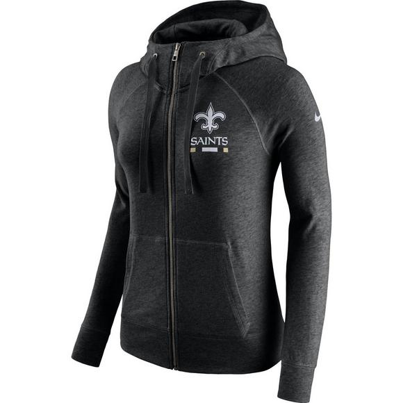 Nike Women s New Orleans Saints Full-Zip Gym Vintage Hoodie - Main  Container Image 1 6afdce3eec