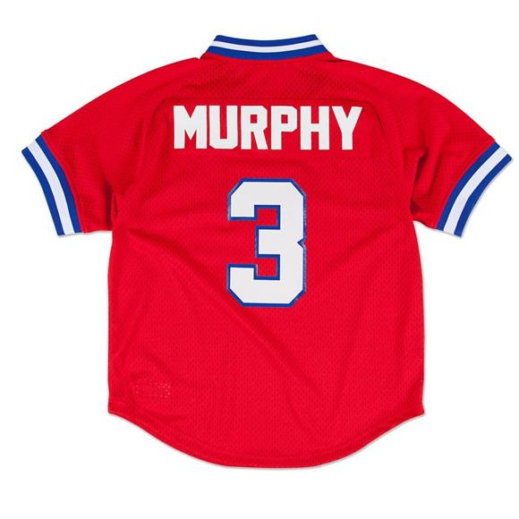 more photos 5b686 8c421 Mitchell and Ness Atlanta Braves Dale Murphy Batting Practice Jersey- Red