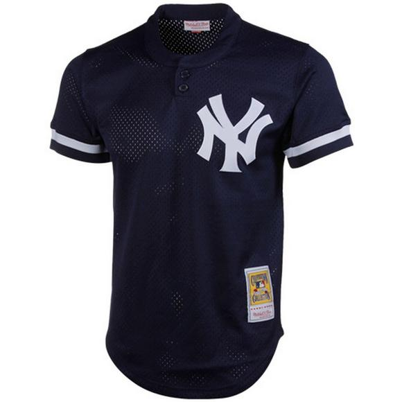 super popular f28b5 a037e Mitchell & Ness Don Mattingly NY Yankees Authentic Practice ...
