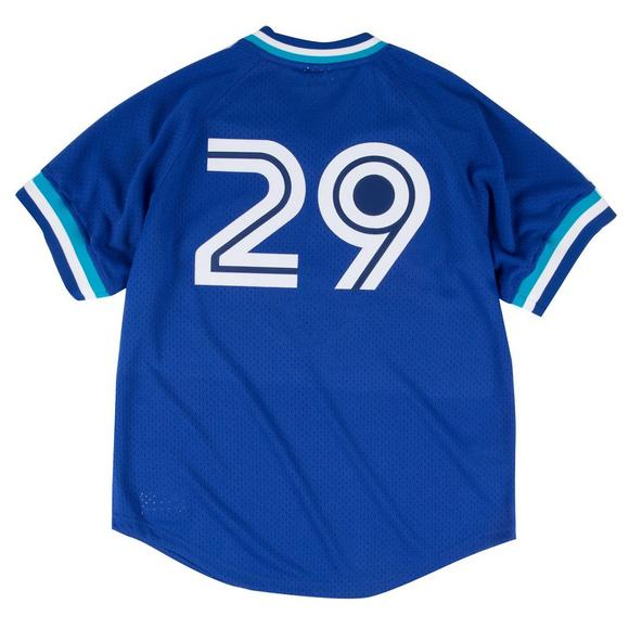official photos 62f40 0cd1c Mitchell & Ness Joe Carter Toronto Blue Jays Batting ...