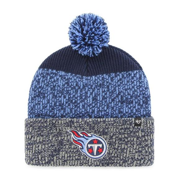 43f95ae011b71d '47 Brand Men's Tennessee Titans Static Cuff Knit Hat - Main Container  Image 1. '
