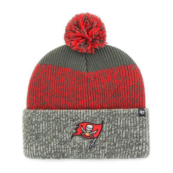 b77ea0c65  47 Brand Men s Tampa Bay Buccaneers Static Cuff Knit Hat - Main Container  Image 1.