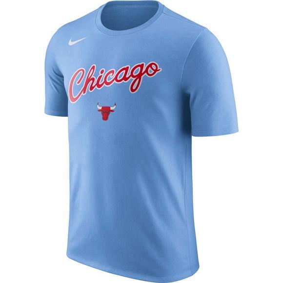 san francisco e095c bd4f3 Nike Men's Chicago Bulls City Edition Team T-Shirt - Hibbett ...