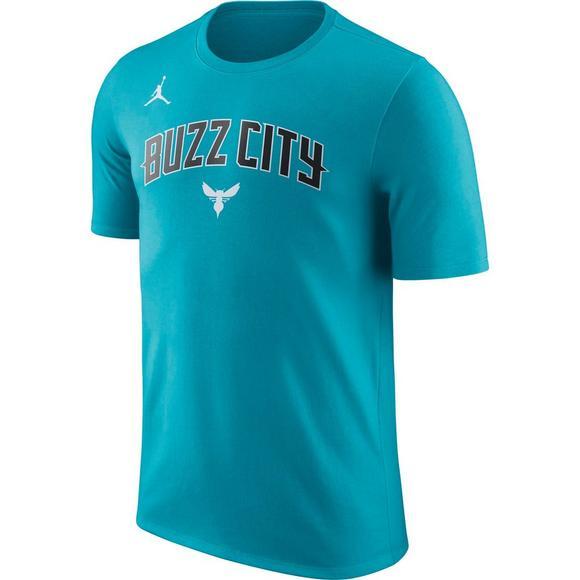 buy online 4781b 03d2b Jordan Men's Charlotte Hornets City Edition Team T-Shirt ...