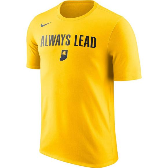 11c584852 Nike Men s Indiana Pacers City Edition Team T-Shirt - Main Container Image 1