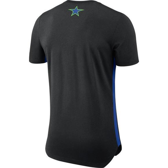 finest selection a4dc6 22151 Nike Men's Dallas Mavericks City Edition Hem T-Shirt ...