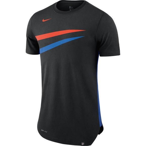 timeless design a29c4 96f61 Nike Men's Oklahoma City Thunder City Edition Hem T-Shirt ...