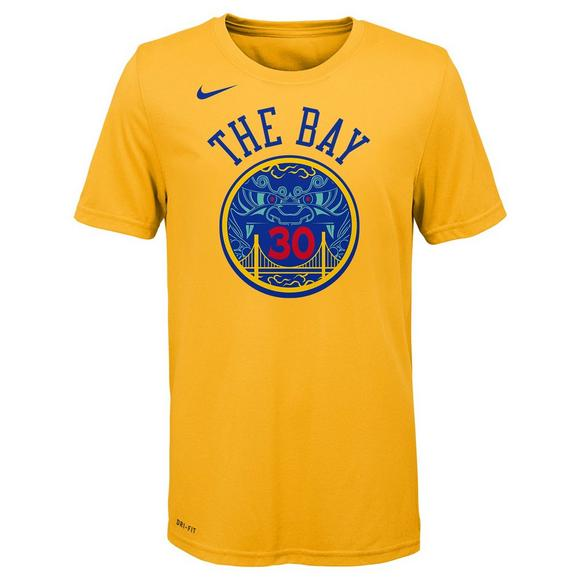 best cheap 4b6b7 49b2f Nike Youth Stephen Curry Golden State Warriors City Edition ...