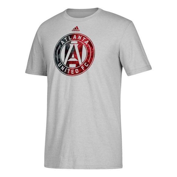 66437558 adidas Men's Atlanta United FC Smoke Out Logo T-Shirt - Main Container  Image 1