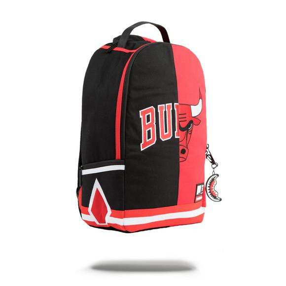 9185d9a8c870 Sprayground Chicago Bulls Split Backpack - Main Container Image 2