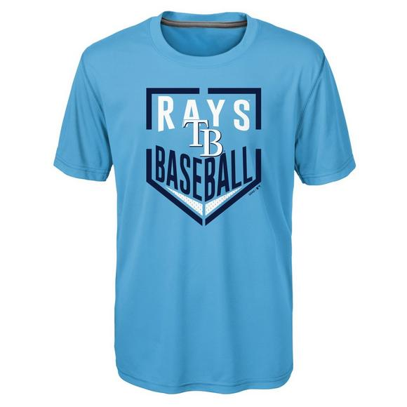 the latest 58353 132b5 Gen 2 Youth Tampa Bay Rays Run Scored MLB Tee - Main Container Image 1