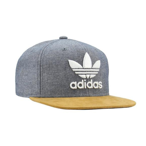 19e597e36b3 adidas Originals Trefoil Plus Snapback Hat - Main Container Image 3