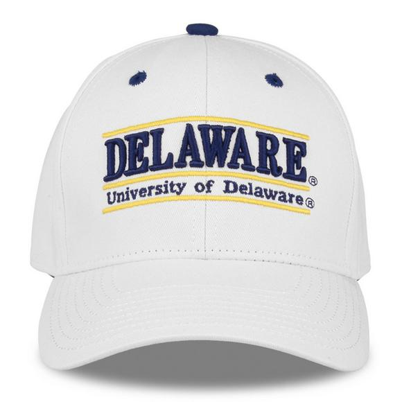 1016fa71ca64b The Game Delaware Fightin  Blue Hens Bar Snapback Hat - Main Container  Image 1