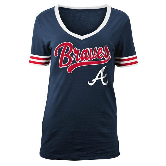272b507578743b New Era Women's Atlanta Braves Opening Night Batting Jersey - Main  Container Image 1