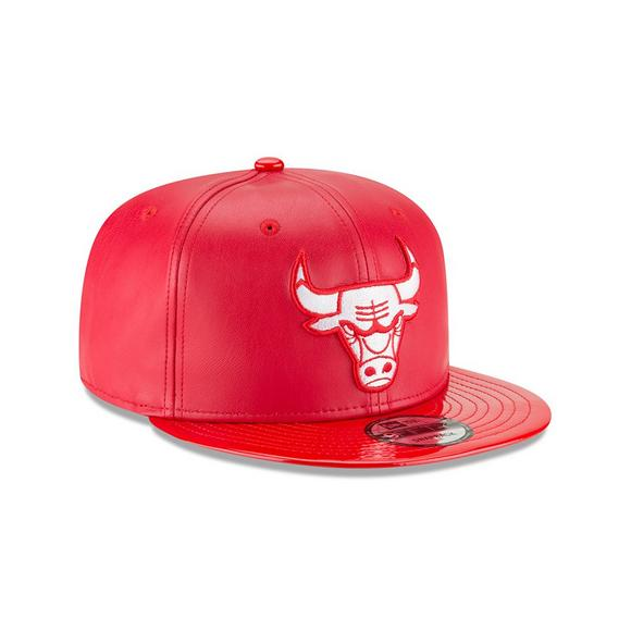 55b623ed10a New Era Chicago Bulls Retro 11 Hook Snapback Hat Red - Main Container Image  2