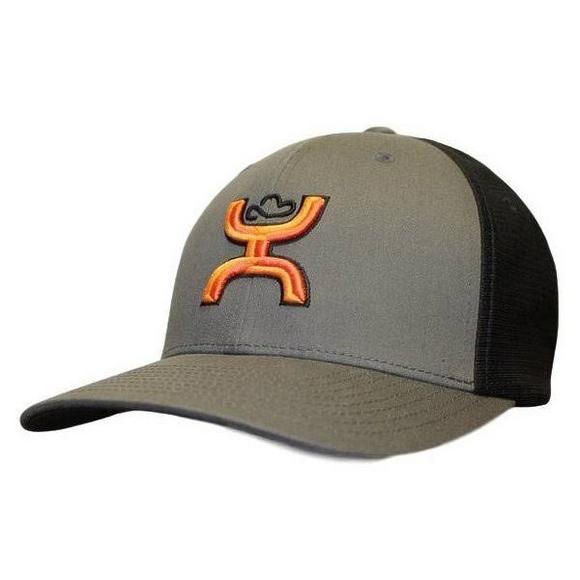 44b5b267cb043e Hooey Flex Fit Logo Mesh Back Hat - Main Container Image 1