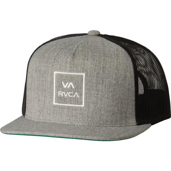 sale retailer 0b149 f33c9 RVCA VA All the Way Snapback Trucker Hat - Black Grey - Main Container Image