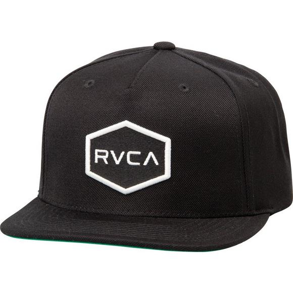 42dde36f21f RVCA Commonwealth Snapback Hat - Main Container Image 1