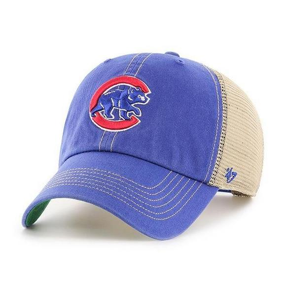 47 Brand Chicago Cubs Trawler Clean Up Adjustable Hat - Main Container  Image 1.   6cd9d7de597b
