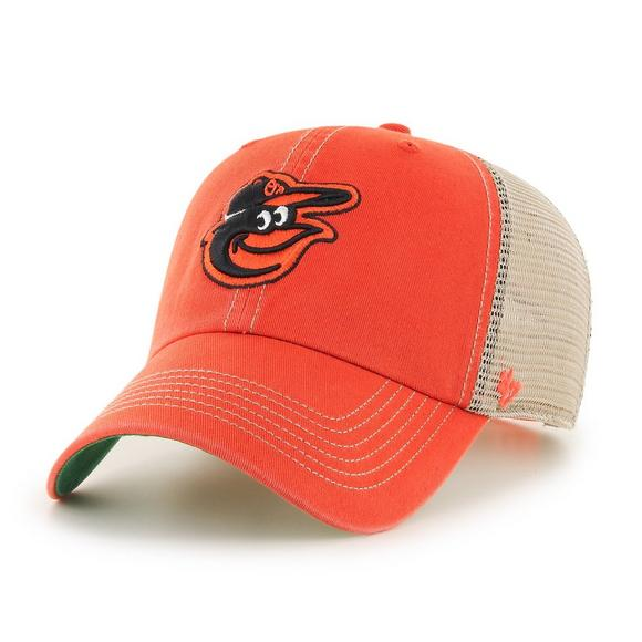 7e85eba59c47c  47 Brand Baltimore Orioles Trawler Clean Up Adjustable Hat - Main  Container Image 1.