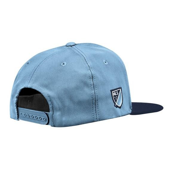 watch d73ce a982e adidas Sporting Kansas City Authentic Snapback Adjustable Hat - Main  Container Image 2