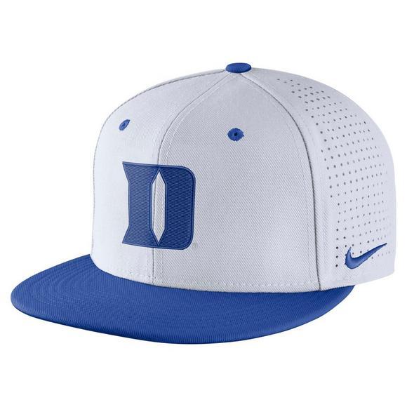 ba77455b2490f Nike Duke Blue Devils Aerobill Fitted Baseball Cap - Main Container Image 1