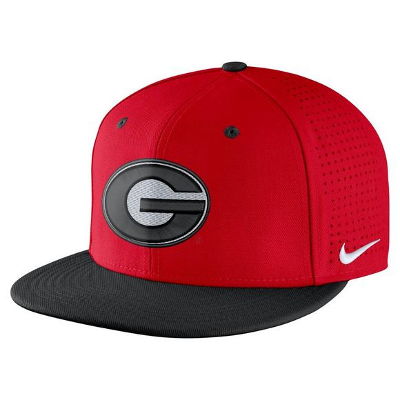 Nike Georgia Bulldogs Aerobill Fitted Baseball Cap - Main Container Image 1 2ce0393066c