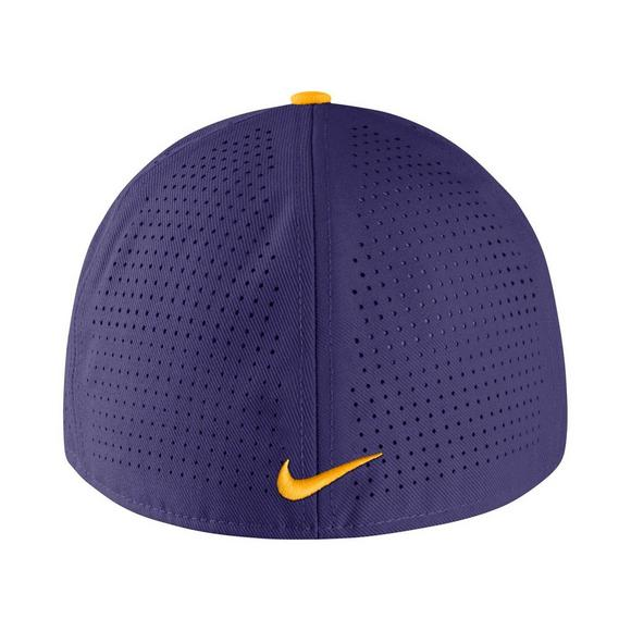 Nike LSU Tigers Aerobill Fitted Baseball Cap - Main Container Image 2 47bb5870539