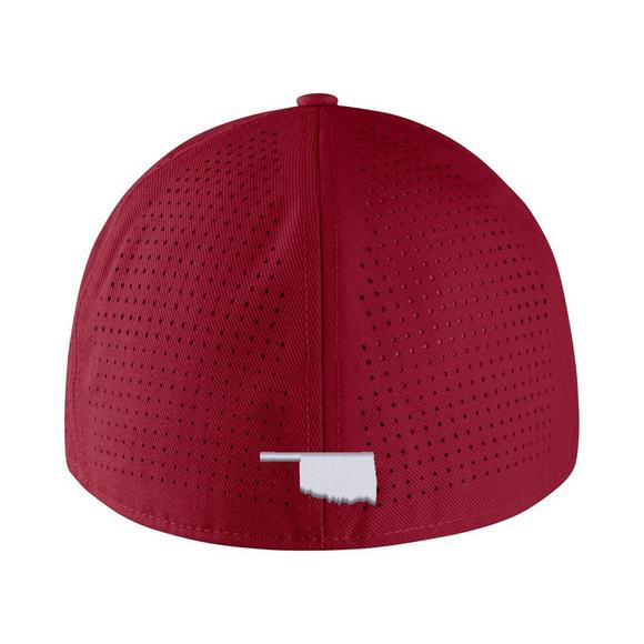 separation shoes f7a6e 81f65 Nike Oklahoma Sooners Aerobill Fitted Baseball Cap - Main Container Image 2