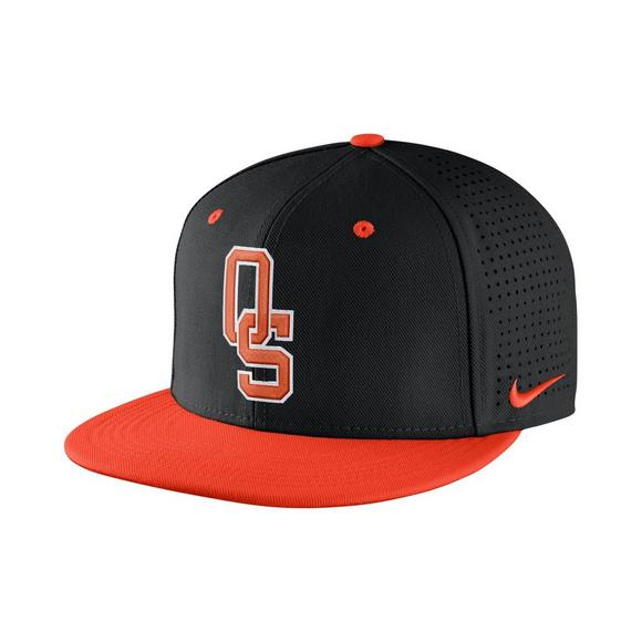 Nike Oklahoma State Cowboys Aerobill Fitted Baseball Cap - Main Container  Image 1 5ee19fb5024d