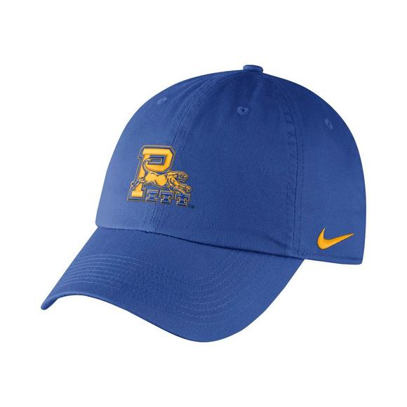 103a3e94 Nike Pittsburgh Panthers Heritage86 Authentic Dri-Fit Adjustable Hat - Main  Container Image 1