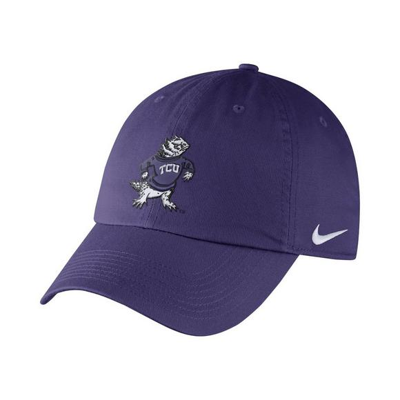 583504224bb Nike TCU Horned Frogs Heritage86 Authentic Dri-Fit Adjustable Hat - Main  Container Image 1