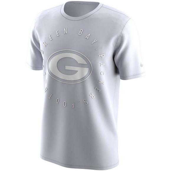 the latest 1da92 81c91 Nike Men's Green Bay Packers Color Rush Logo T-Shirt ...