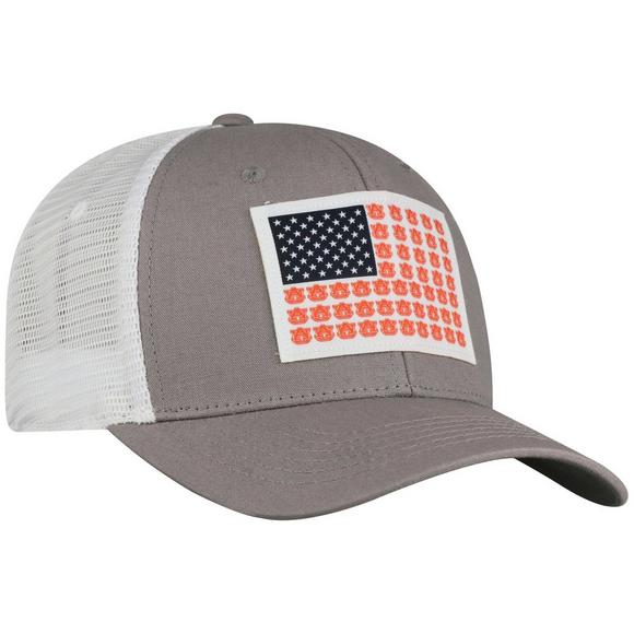 58e61ee80b9b Top of the World Auburn Tigers Fish Flag Stretchfit Hat - Main Container  Image 2